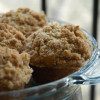 Banana Muffins: Crumbly, sweet, also kind of good for you