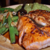 Salmon with Orange-Balsamic Glaze
