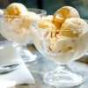 Apricot frozen yogurt