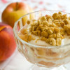 Summer Meets Fall: Apple-Nectarine Parfaits with Maple Yogurt