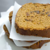 Pumpkin date bread with chocolate chips…in the bread machine!