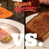 Munch Madness 2014: Round 1, Match 3: Turkey Pickle vs. Peanut Butter Grilled Cheese, by Jack Walsh