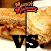 Munch Madness 2014: Round 1, Match 7: Peanut Butter, Banana & Bacon vs. Peanut Butter Fried Egg Sandwich