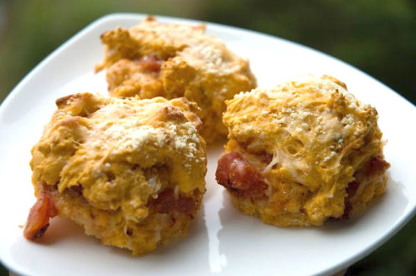 Cheesy Tomato Biscuits