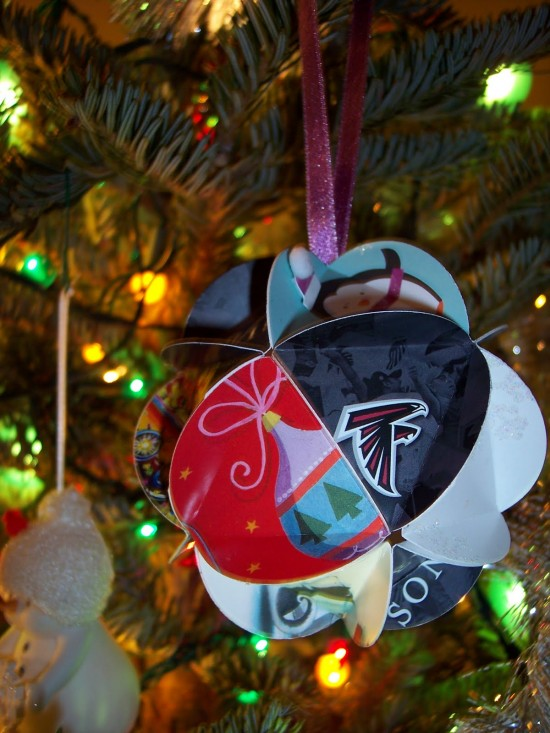 Holiday Card Ornament