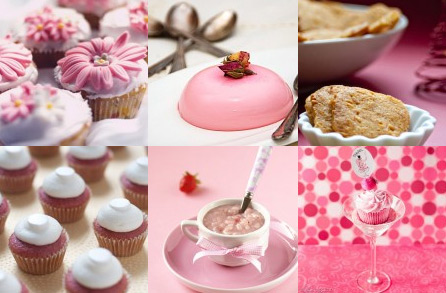 Pink foods for January
