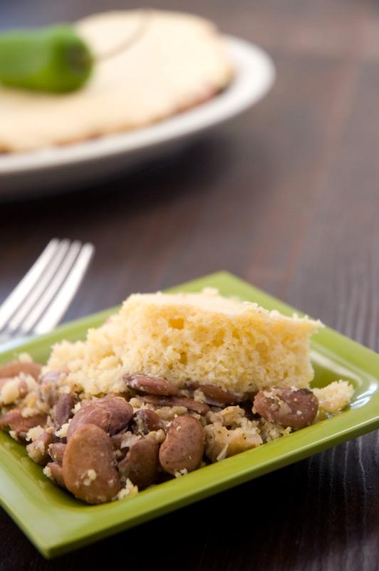 Beans + Cornbread