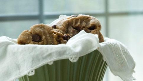 Smitten Kitchen's Chocolate Chip Peanut Butter Cookies