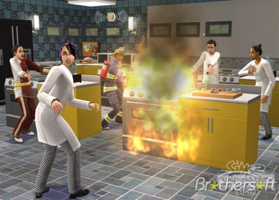 Sims cooking