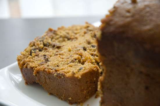 Chocolate Date Pumpkin Bread
