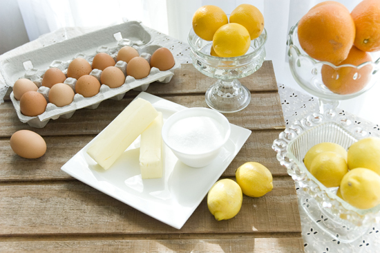 Citrus curd with four ingredients