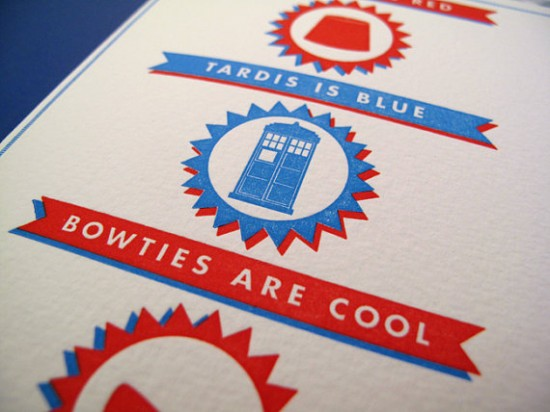 Doctor Who's Valentine Card by Bruce Loves You
