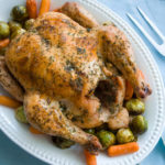 Roasting a chicken is so easy!