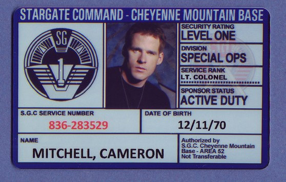 Stargate ID by IDentity Props