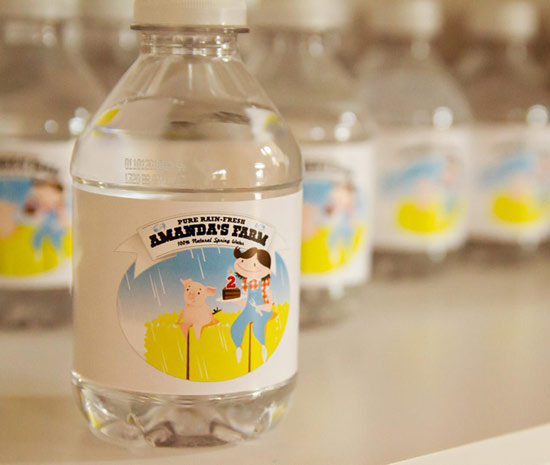 Amanda's Farm Bottled Water