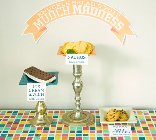 Munch Madness Victory