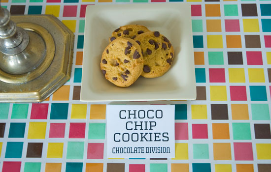 Chocolate Chip Cookies, runner up