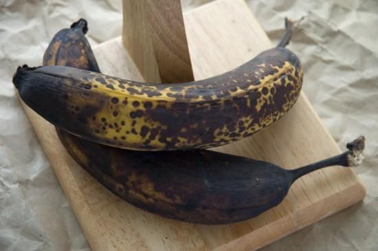 Overripe bananas