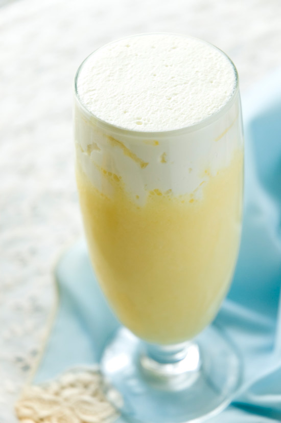 Banana cream rumshake