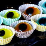 Boozy jello eyeballs from Jelly Shot Test Kitchen