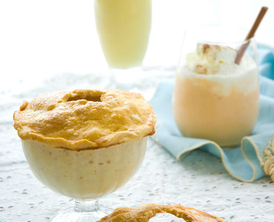Spiked pie milkshakes: Apple, Banana Cream and Pumpkin