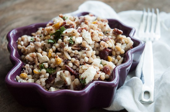Harvest Grains salad is so tasty and so quick.