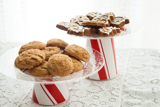 Make these easy cookie stands for your travel treats!