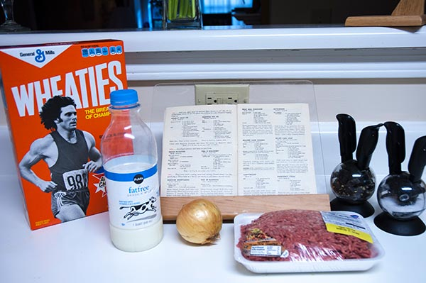 "Everything you ""need"" for emergency steak"
