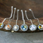 Bird's nest necklaces
