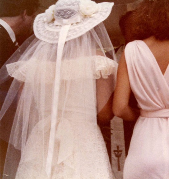 Kristina's mom's wedding, 1980
