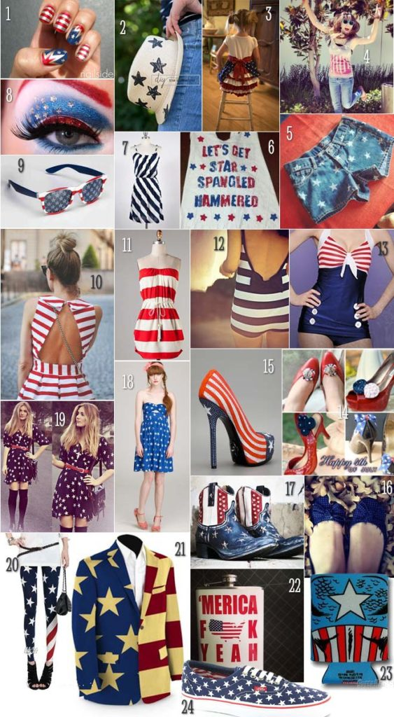 Knuckle Salad's July 4th style roundup