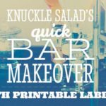 Knuckle Salad's Quick Bar Makeover