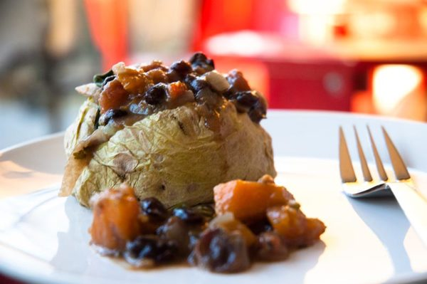 Butternut Black Bean Chili Potato