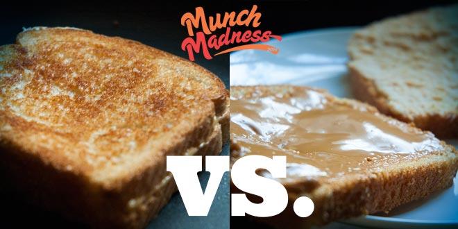 Munch Madness 2014: Round One, Match One