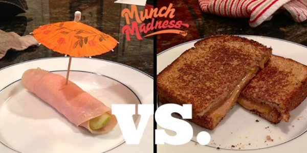 Munch Madness 2014: Round 1, Match 3: Turkey Pickle vs. PB Gtilled Cheese