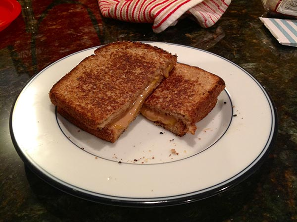 Peanut butter grilled cheese: amazing or WTF?