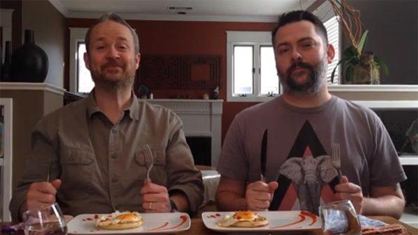 Tony Jenkins and Jason Mallory for Munch Madness 2014