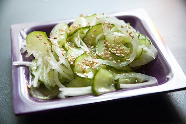 Simple cucumber salad