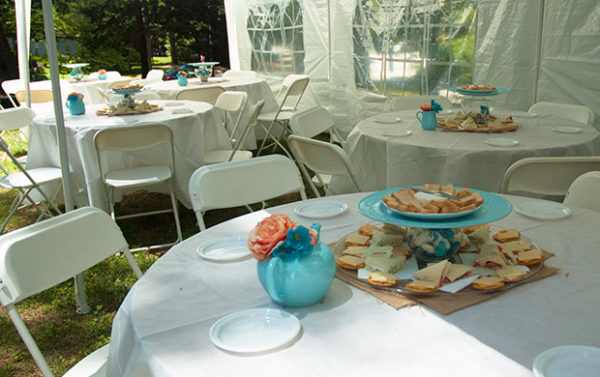 Garden Party for a Southern Gentleman