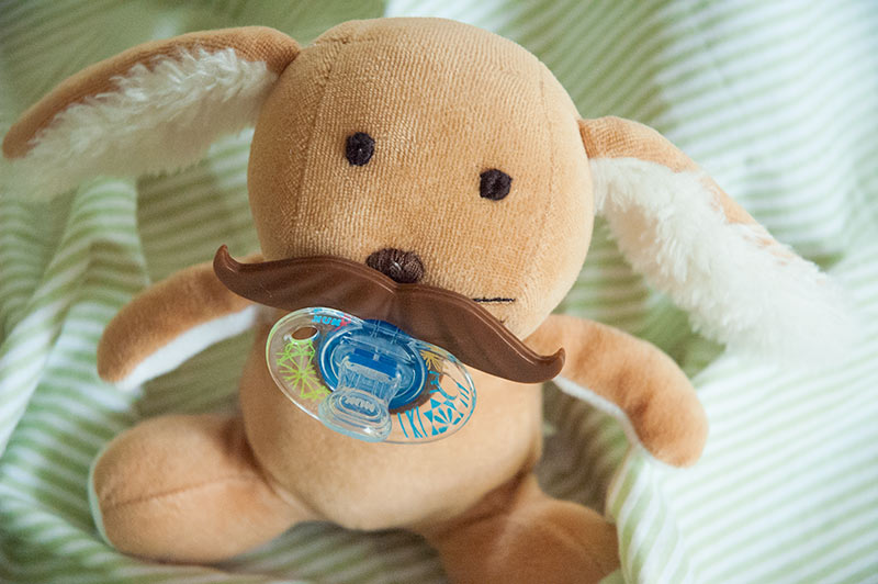 Senor Bunzales, the DIY Pacifier Bunny