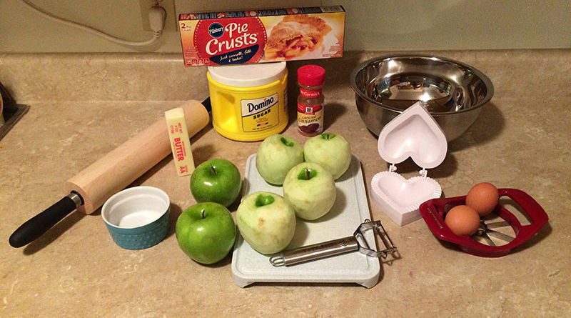 McDonald's copycat apple pie: Ingredients