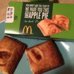 McDonald's copycat apple pie: Original