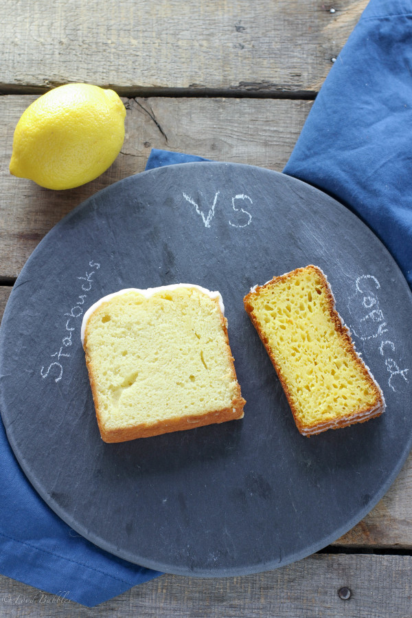 Copycat Starbucks Iced Lemon Pound Cake 2
