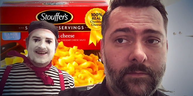 Jason and Ben's review of the Stouffer's Mac and Cheese copycat