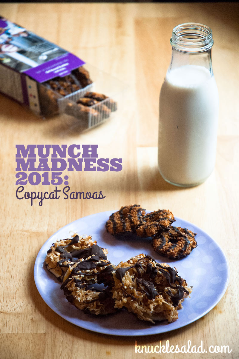 .Samoa copycat recipe is put to the test in 2015's Munch Madness