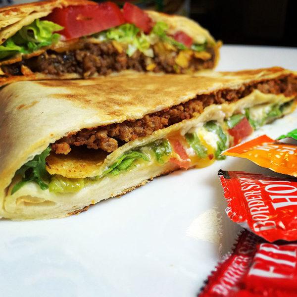 Taco Bell Copycat Crunchwrap