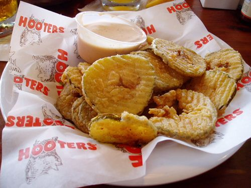 Fried pickles from Hooters