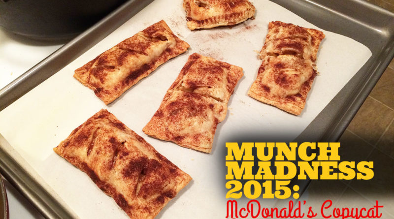 McDonald's apple pie copycats