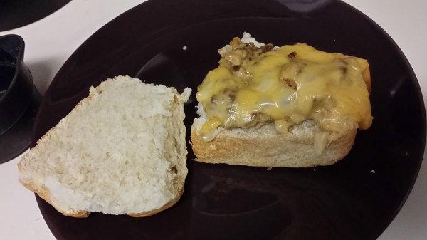 White Castle copycat: Bread-dy