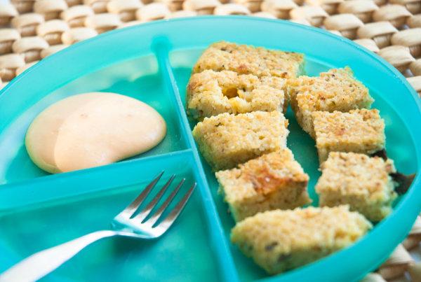 Toddler Couscous Bites